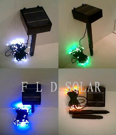 太阳能串灯,太阳能圣诞灯
