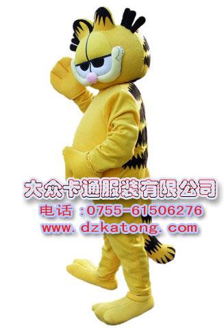 卡通咖啡猫服装