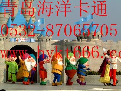 供应青岛海洋卡通服装圣诞礼服七个小矮人
