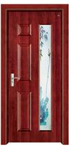 豪华烤漆钢木门