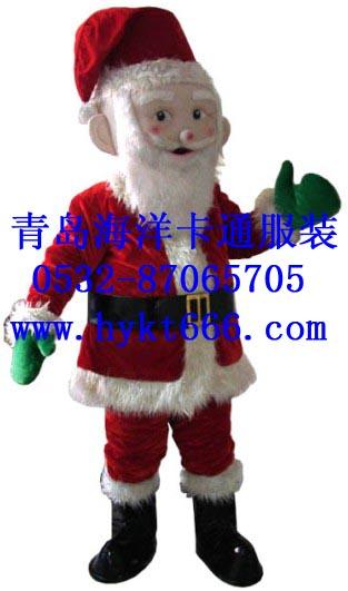 出售山东青岛卡通服装,圣诞礼服,新款圣诞老人