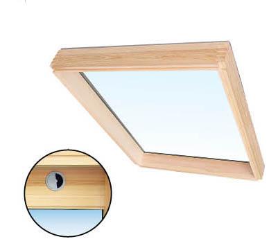 固定式斜屋顶窗