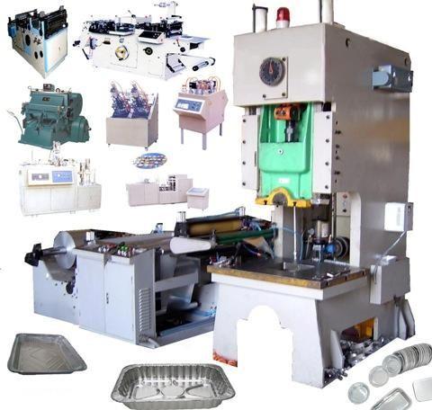 铝箔餐盒生产线