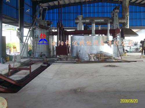 斜炉门铝熔炼炉(铝合金熔化炉、铝合金熔炼炉)