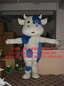 供应上海卡通服装,卡通吉祥牛服装,卡通舞台服装,卡通道具服装