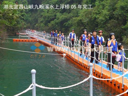 水上组合式浮桥