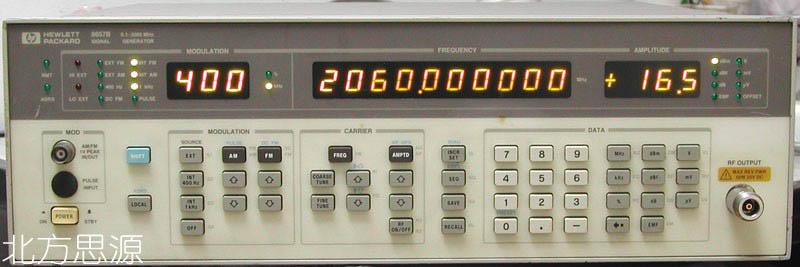 高频合成信号源 HP8657B