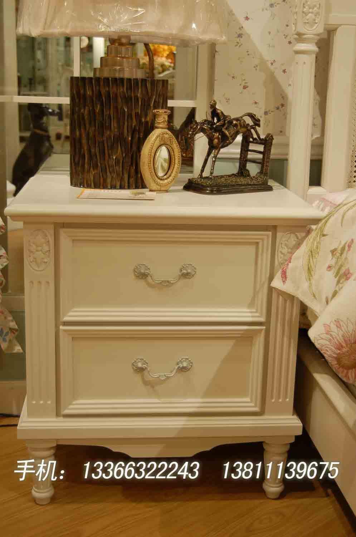 欧式家具,田园风格床头柜
