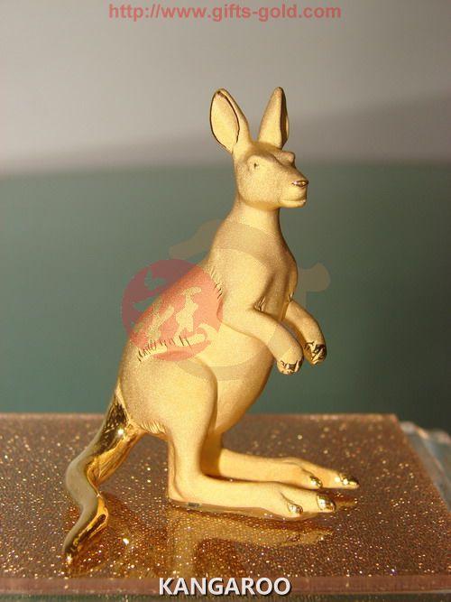 gold gifts ---kangaroo