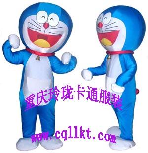 重庆玲珑卡通服装机器猫