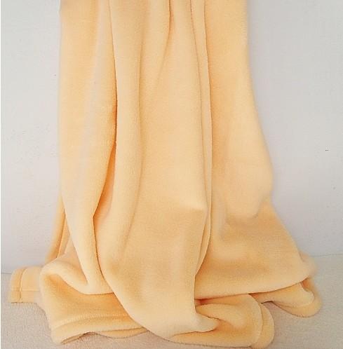 印花珊瑚绒毯