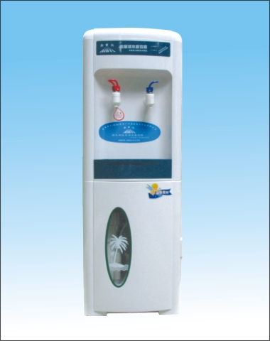 中国净水网新亿立式冰热能量水机/直饮机/净水器/碱性水机/中国净水网