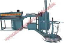 半自动菱形网(勾花网)机械