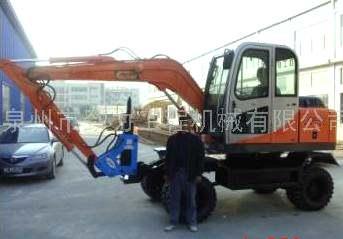 全新国产轮式挖掘机