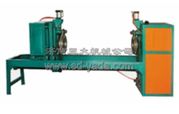 太阳能热水器生产线设备:yd-8气动外桶两头压筋缩口