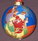 内画-圣诞球