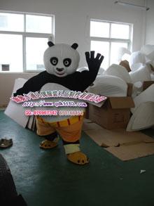 供应内蒙古卡通服饰,卡通人偶表演服装,卡通功夫熊猫服装,动漫服装