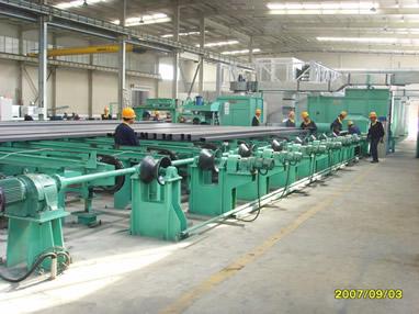钢管喷漆生产线