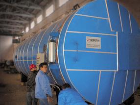罐式炭化木处理设备(炭化罐)