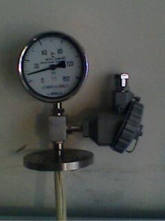 液体压力式温度计