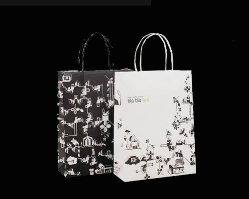 包装 包装设计 购物纸袋 纸袋 500_400