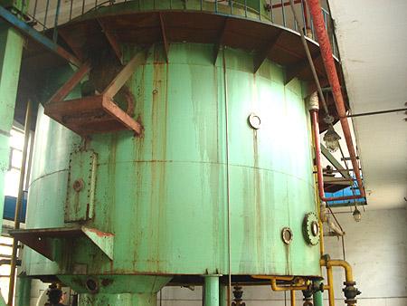 转让02年50吨米糠油浸出设备一套