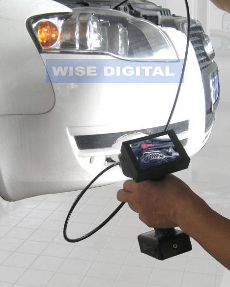 简易式手持视频汽车内窥镜