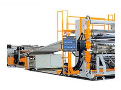 塑料建筑模板生产线-塑料机械