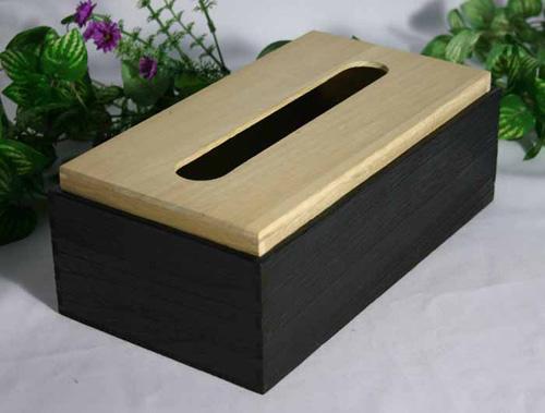 木匠大师实木纸巾盒