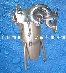 卫生级顶入式酱油液体袋式过滤器广州-佛山-肇庆