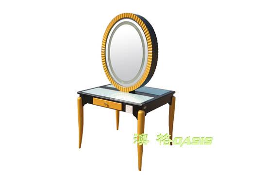 圆形化妆台