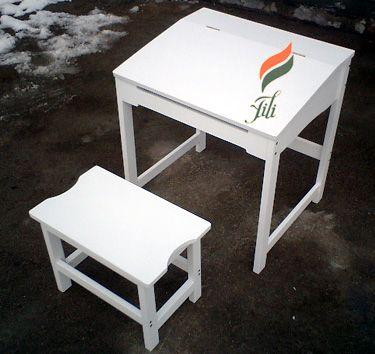 实木儿童桌椅 2