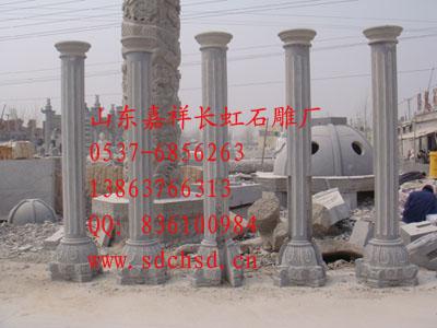 石雕牌坊、龙柱、亭子、华表、墓碑、石材