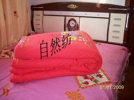 自然纺纯棉被褥