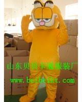 山东贝贝卡通服装道具卡通表演服装动漫行走人偶服饰加菲猫