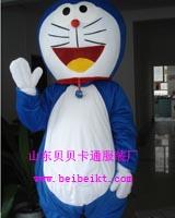 山东卡通人偶南京卡通道具动漫服饰青岛毛绒玩具机器猫