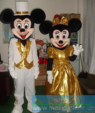 供应卡通服装,卡通人偶卡服装,通服饰,舞台服,表演服装,米老鼠