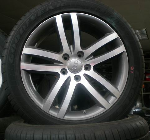 奥迪A4/A6/A8/Q7汽车配件,钢圈,拆车件