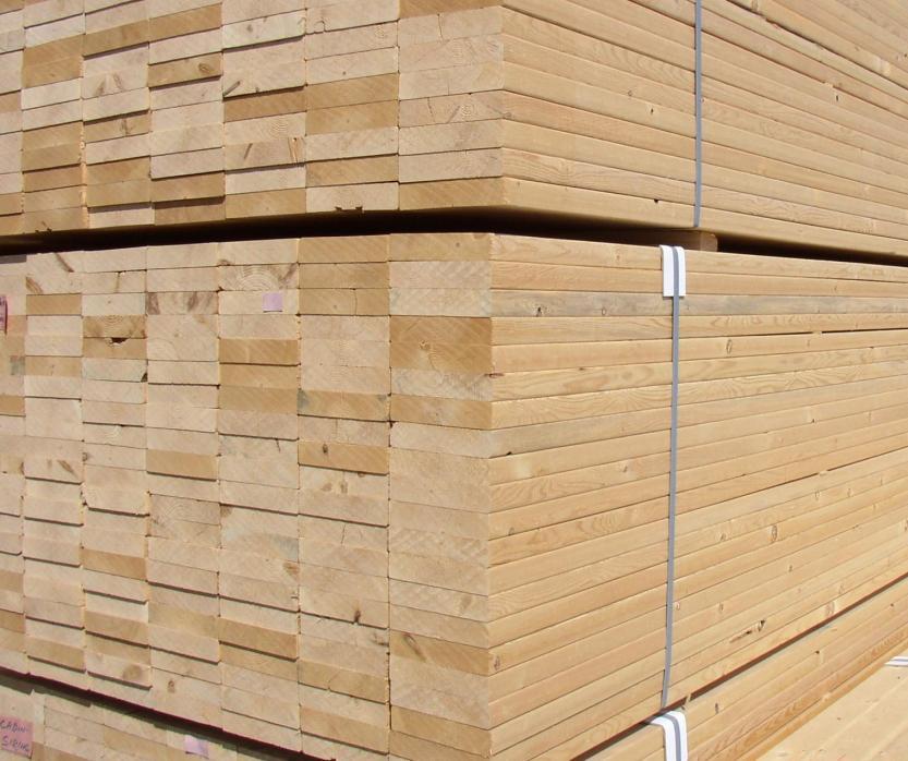 加松SPF(云杉—松木—冷杉)板材方料