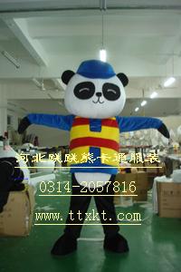香港卡通服装,卡通人偶新款熊猫