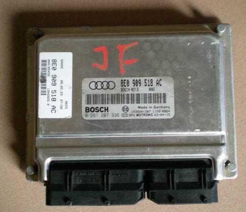 奥迪A4 1.8发动机电脑板,拆车件配件