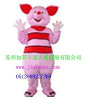 江苏苏州加菲卡通服装卡通人偶/表演服装/动漫行走人偶可可猪