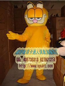 供应南京卡通服饰,迪斯尼卡通人偶服装加菲猫,卡通动漫,演出服装