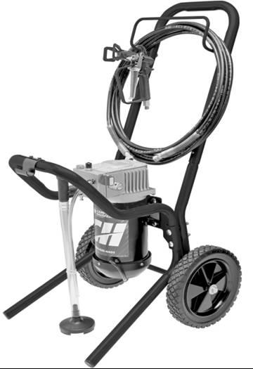 美国坎贝尔PS240喷涂机/固瑞克喷涂机