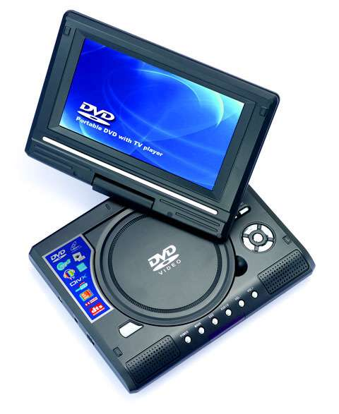 供应7英寸便携式DVD机,移动DVD机,可视DVD机,DVD,