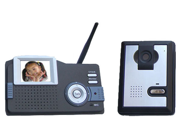 2.4G无线可视门铃