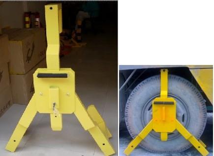 超重型车轮锁 货柜车专用车轮锁 泥头车锁车器楂土车胎锁