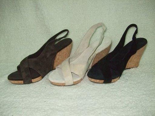 UGGboots 1771 鱼嘴坡跟鞋