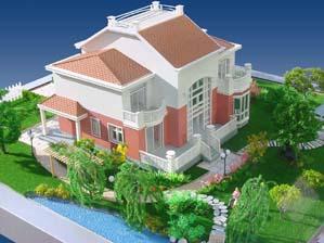 设计制作别墅模型