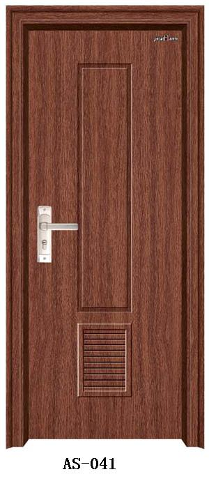 低价供应安实免漆门 烤漆门 室内门 PVC门